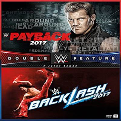 Wwe: Payback / Backlash 2017 (페이백/백래쉬 2017)(지역코드1)(한글무자막)(DVD)