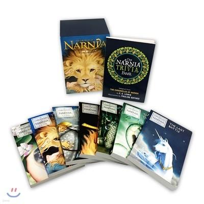 The Chronicles of Narnia 8-Book Box Set(1~7+Trivia book) : 나니아 연대기 원서 8권 세트 (1~7권 + 설정집)