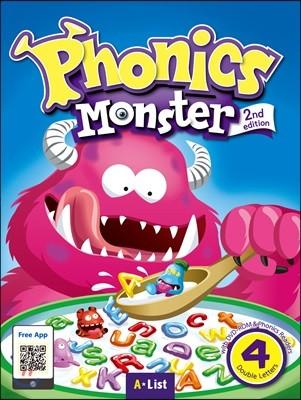 Phonics Monster 4 : Student Book, 2/E