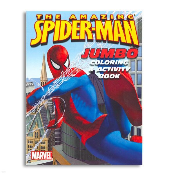 The Amazing Spider-Man Jumbo Coloring and Activity Book