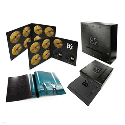 B'Z (비즈) - B'z Complete Single Box (LP Size Special Package Remastered 53CD+2DVD+100P Booklet)