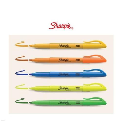 [알앤비]Sharpie 샤피 포켓 형광펜 / 클립형