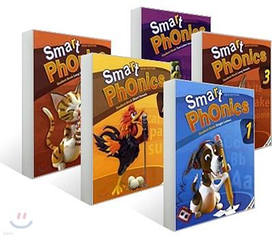 Smart Phonics 1-5 Student Book 세트 (New Edition)
