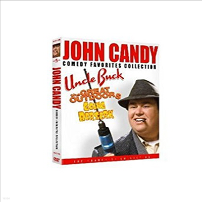 John Candy Comedy Favorites Collection (Uncle Buck / The Great Outdoors / Going Berserk) (존 캔디 코메디 컬렉션)(지역코드1)(한글무자막)(DVD)