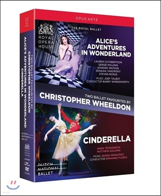 The Royal Ballet 크리스토퍼 윌든: 발레 - 이상한 나라의 앨리스 , 신데렐라 (Christopher Wheeldon Ballets - Alice's Adventures in Wonderland & Cinderella)
