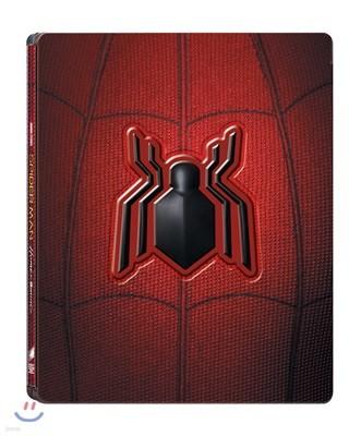 스파이더맨 : 홈커밍 3D & 2D (2Disc 합본 마그넷 스틸북 한정판) : 블루레이