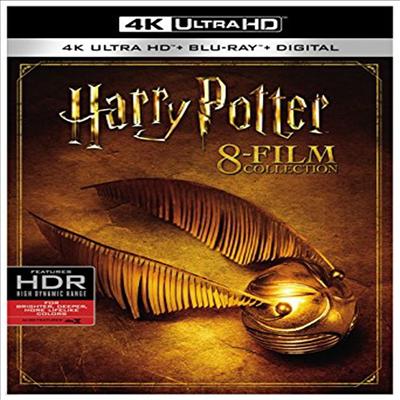 Harry Potter 8-Film Collection (해리 포터 시리즈 1-8) (한글무자막)(4K Ultra HD + Blu-ray + Digital)