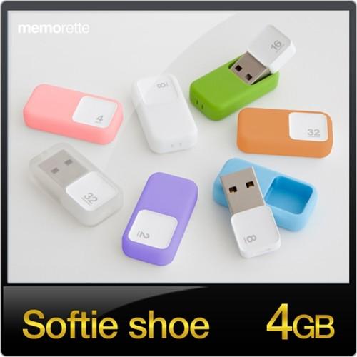 [무배][메모렛] 소프티 슈 softie shoe 4GB USB메모리