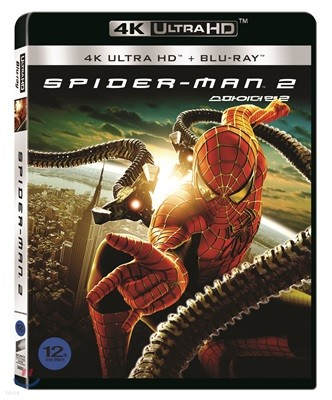 스파이더맨 2 (2Disc 4K UHD) : 블루레이