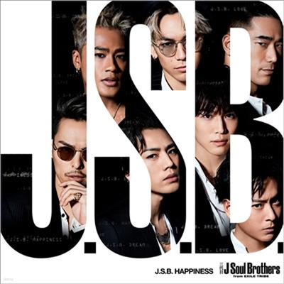 Sandaime J Soul Brothers (산다이메 제이 소울 브라더스) - J.S.B. Happiness (CD+DVD)