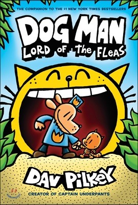 Dog Man #5 : Lord of the Fleas