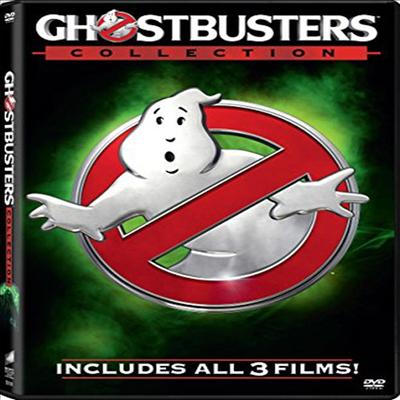 Ghostbusters (1984) / Ghostbusters Ii (고스트버스터즈/고스트버스터즈 2/고스트버스터즈 2016)(지역코드1)(한글무자막)(DVD)
