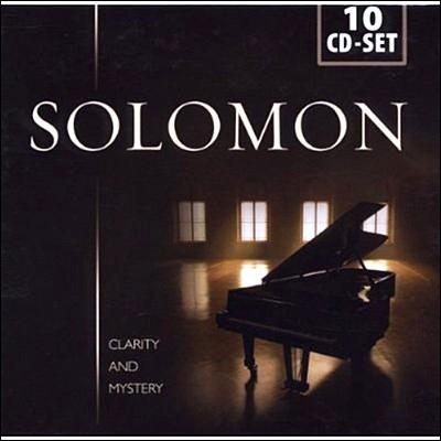 투명하고 신비로운 피아노 솔로몬 (Clarity And Mystery Solomon)