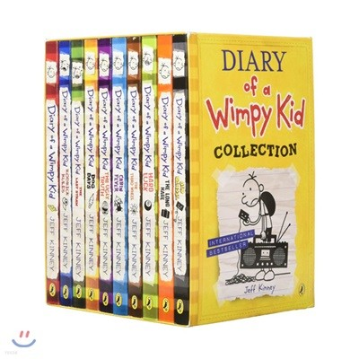Diary of a Wimpy Kid Box Set Collection #1~10 : 윔피키드 페이퍼백 10종 박스