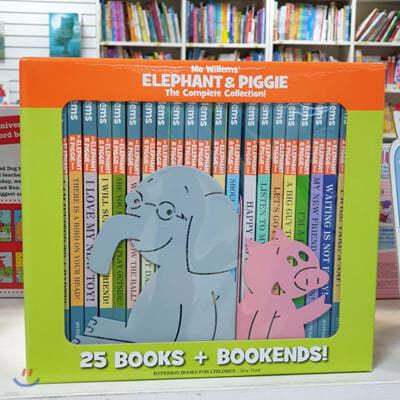 모 윌렘스 엘리펀트 앤 피기 원서 25종 세트 (북엔드 2종 포함) Elephant & Piggie: The Complete Collection