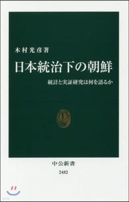 日本統治下の朝鮮 統計と實證硏究は何を語