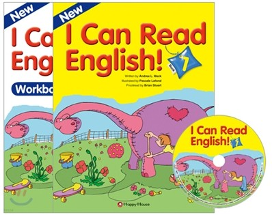 New I Can Read English! 1 : Student Book + Workbook