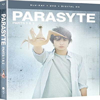 Parasyte: Parts One & Two - Live Action (기생수)(한글무자막)(Blu-ray)