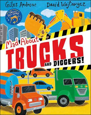 [스크래치 특가] Mad About Trucks and Diggers!