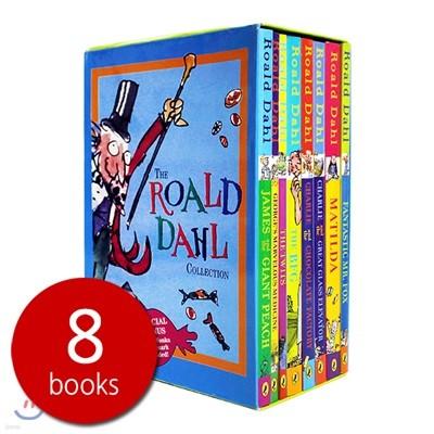 로알드달 베스트 8종 박스 세트 (미국판) : The Roald Dahl Collection 8 Books