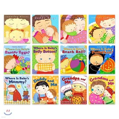 캐런 카츠 아기 그림책 원서 12종 세트 : Karen Katz