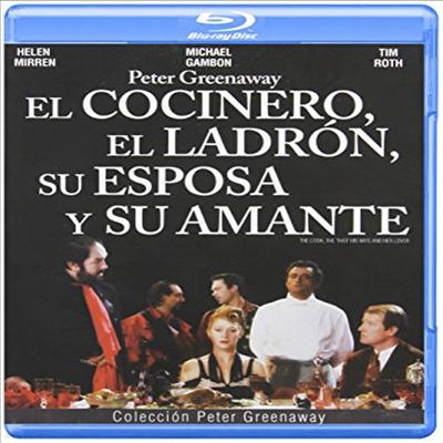 Cook the Thief His Wife & Her Lover (요리사, 도둑, 그의 아내 그리고 그녀의 정부) (한글무자막)(Blu-ray)