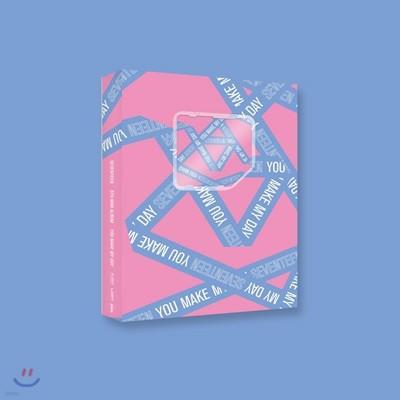 세븐틴 (Seventeen) - 미니앨범 5집 : You Make My Day [Set The Sun ver.] [스마트 뮤직 앨범(키노앨범)]