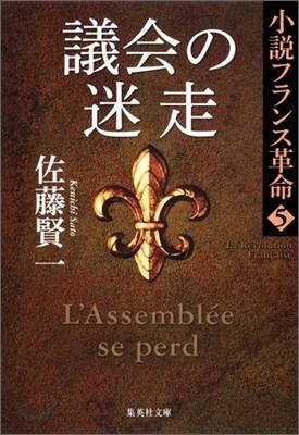 小說フランス革命(5)議會の迷走