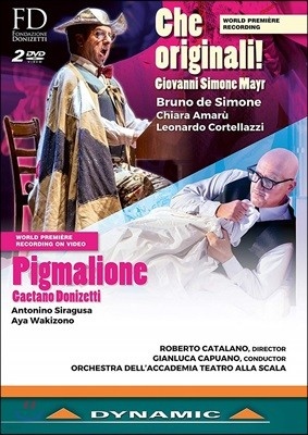Bruno de Simone / Gianluca Capuano 마이어: 체 오리지날! / 도니제티: 피그말리오네 (Mayr: Che originali! / Donizetti: Pigmalione)