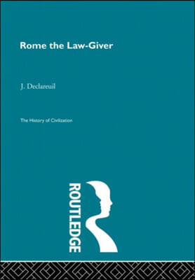 Rome the Law-Giver