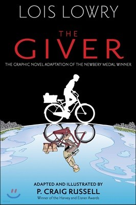 The Giver (Graphic Novel) : 기억전달자 그래픽 노블