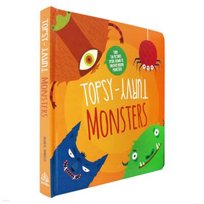 [스크래치 특가]Topsy Turvy Monsters