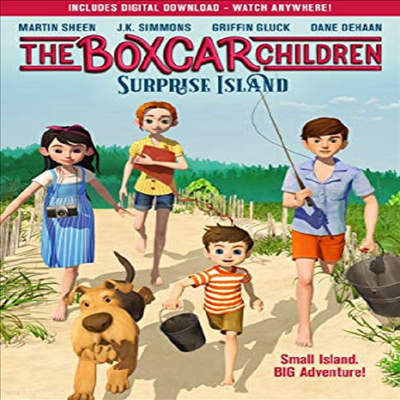 Boxcar Children: Surprise Island (더 박스카 칠드런: 서프라이즈 아일랜드)(지역코드1)(한글무자막)(DVD)