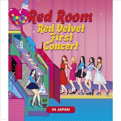 레드벨벳 (Red Velvet) - 1st Concert 'Red Room' In Japan (Blu-ray)(Blu-ray)(2018)