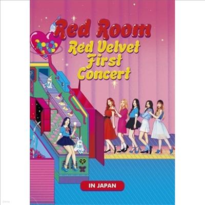 레드벨벳 (Red Velvet) - 1st Concert 'Red Room' In Japan (지역코드2)(2DVD)