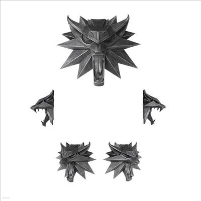 Dark Horse - (다크호스)Witcher 3 - Wolf Wall Sculpture (위쳐3)