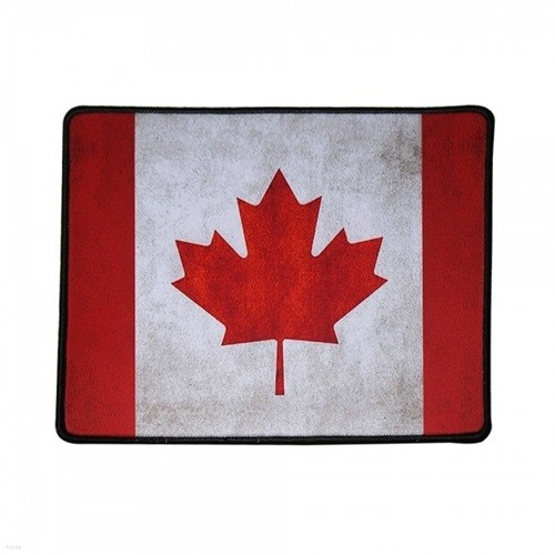 (디비닷컴) G-TRACTER 빈티지 국기 스몰 마우스패드 캐나다