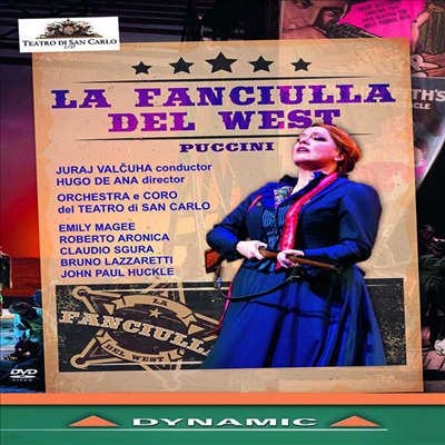 푸치니: 오페라 '서부의 아가씨' (Puccini: Opera 'La Fanciulla del West') (한글자막)(DVD) (2018) - Juraj Valcuha