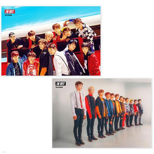 [주로파][포스터2종] 더보이즈 (The Boyz) The Sphere (브로마이드2장+지관통)
