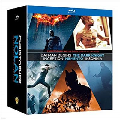 Christopher Nolan: Director's Collection (크리스토퍼 놀란 컬렉)(한글무자막)(Blu-ray)
