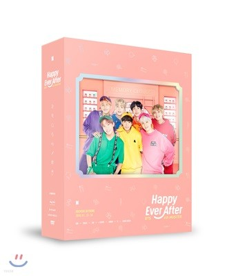 방탄소년단 (BTS) - BTS 4th MUSTER : Happy Ever After DVD