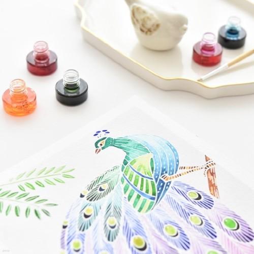 센토스피어 DIY 수채화 그림그리기 키트, 수채화 컬러링