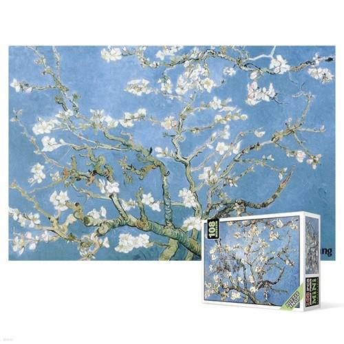 108피스 직소퍼즐 - 꽃이 핀 아몬드 나무 4 (미니)