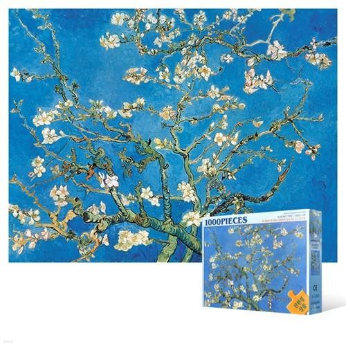 1000피스 직소퍼즐 - 꽃이 핀 아몬드 나무 4