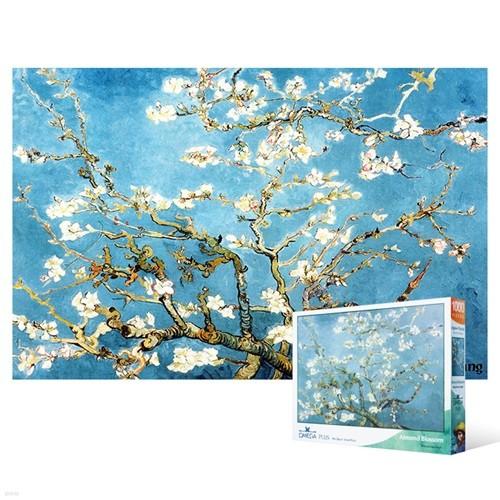 1000피스 직소퍼즐 - 꽃이 핀 아몬드 나무 5