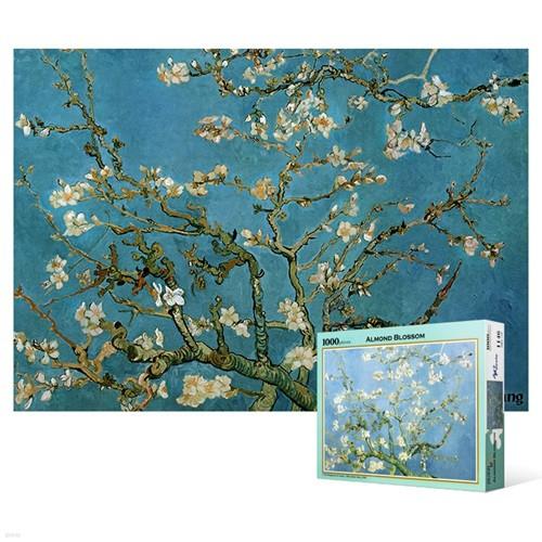 1000피스 직소퍼즐 - 꽃이 핀 아몬드 나무 2