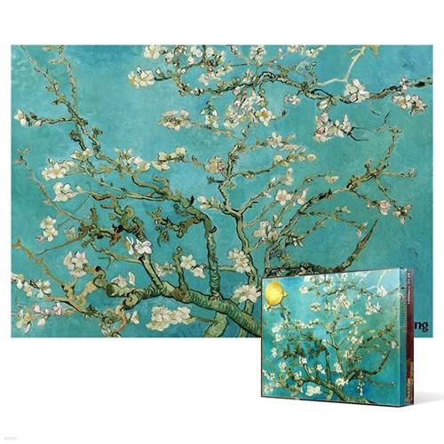 1000피스 직소퍼즐 - 꽃이 핀 아몬드 나무 3