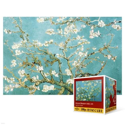 108피스 직소퍼즐 - 꽃이 핀 아몬드 나무 2 (미니)