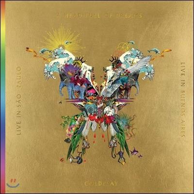 Coldplay - Live In Buenos Aires 콜드플레이 버터플라이 패키지 [2CD+2DVD]