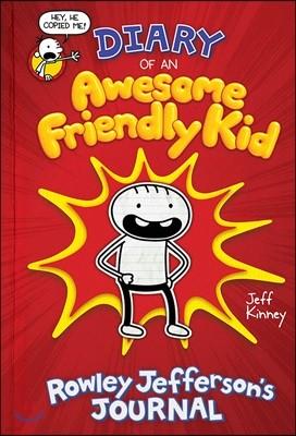 Rowley Jefferson #1 : Diary of an Awesome Friendly Kid (미국판) : Rowley Jefferson's Journal